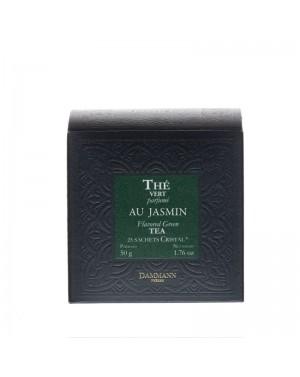 Thé vert au jasmin en sachet - Dammann frères