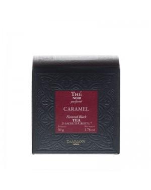 Thé noir caramel en sachet - Dammann frères