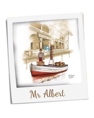 Café 100pourcent arabica bio du Pérou Mr Albert - Terramoka