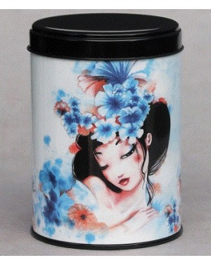 Boite à thé Flowers