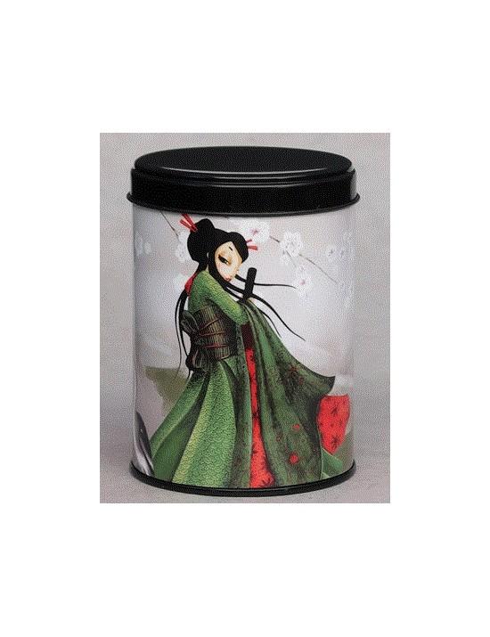 Boite à thé La voyageuse