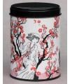 Boite à thé Fleurs de prunier
