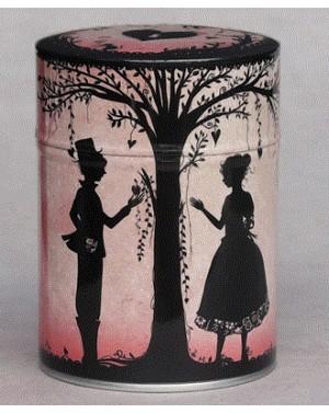 Boite à thé Les amoureux