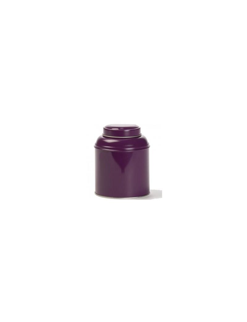 Boite à thé dôme violette