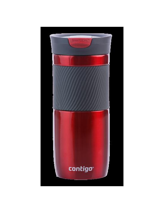 Mug de voyage isotherme double paroi Byron rouge - Contigo