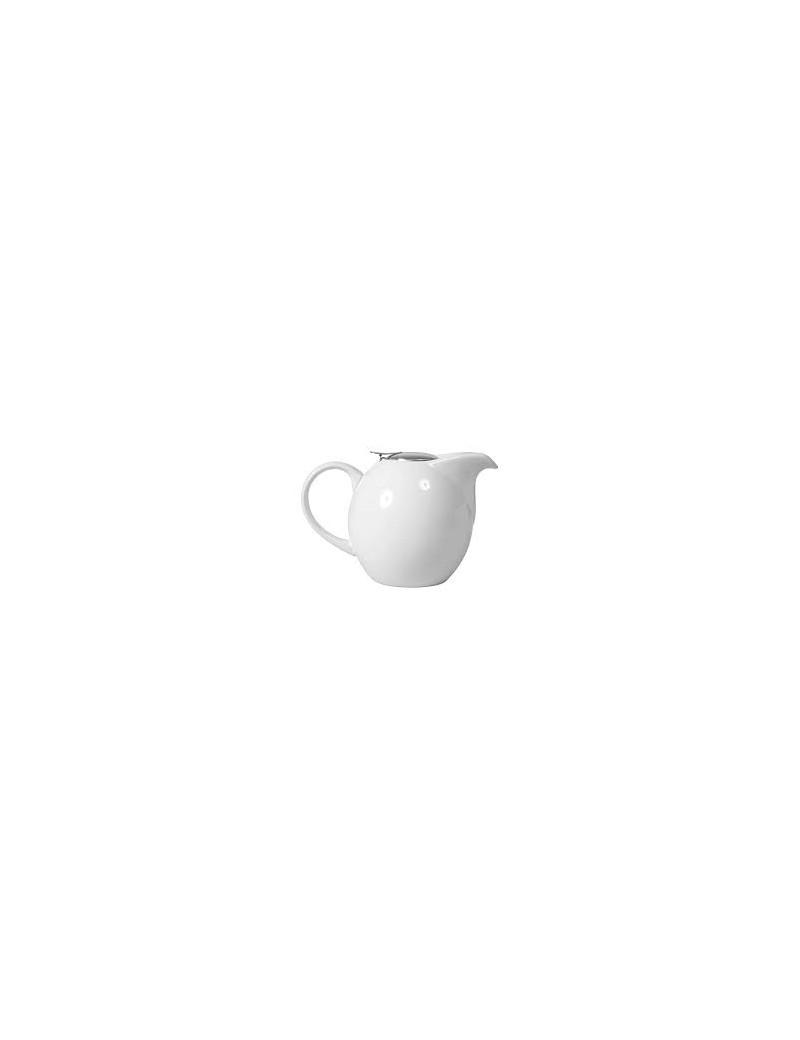 Théière boule en céramique 1,5L blanc