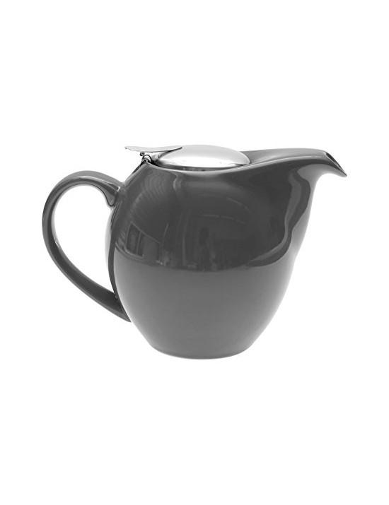 Théière boule en céramique 1,5L gris eiffel