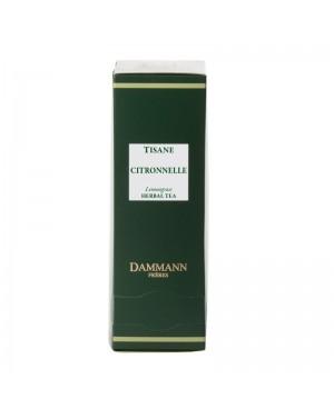 Tisane à la citronnelle en sachet emballé - Dammann frères