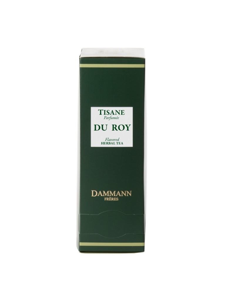 Tisane du Roy en sachet emballé - Dammann frères