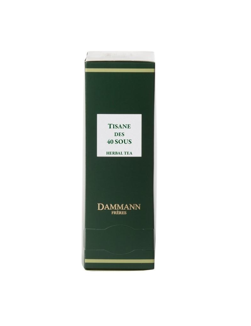 Tisane des 40 sous en sachet emballé - Dammann frères