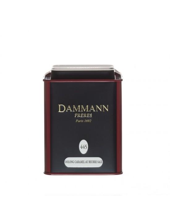 Thé Oolong Caramel au beurre salé n°445 - Dammann frères