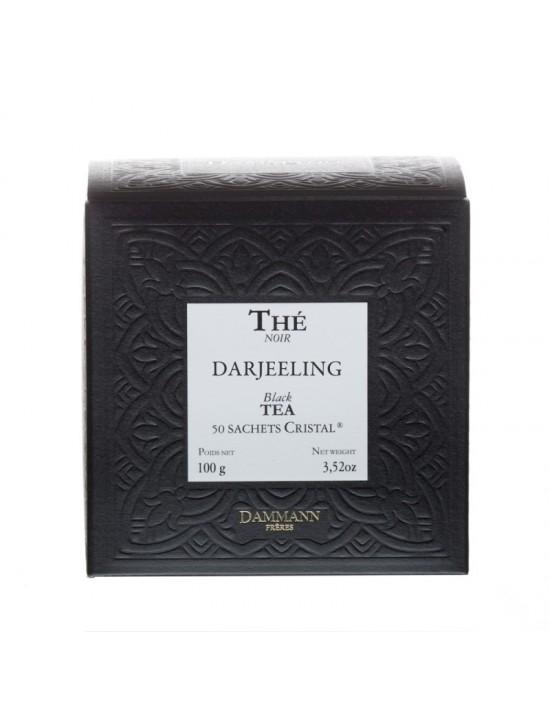 Thé noir Darjeeling en sachet - Dammann frères