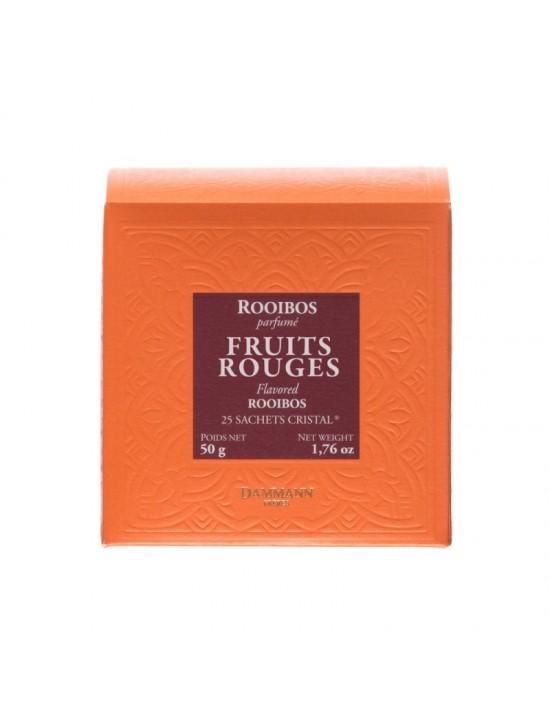 Thé rouge Rooibos Fruits rouges en sachet - Dammann frères