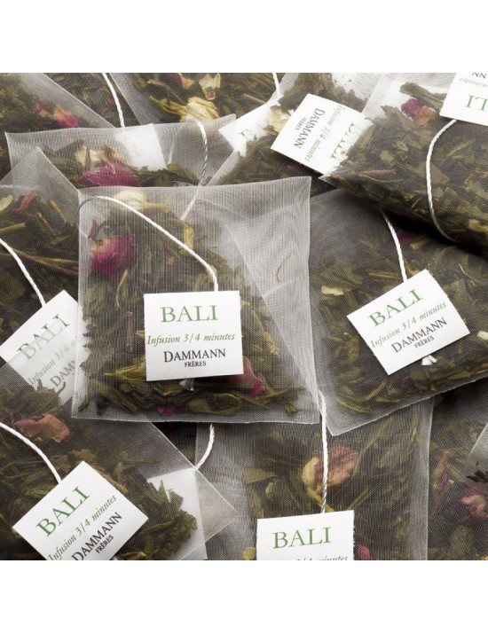 Thé vert Bali en sachet - Dammann frères