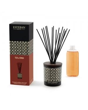 Bouquet parfumé décoratif Teck et Tonka - Esteban