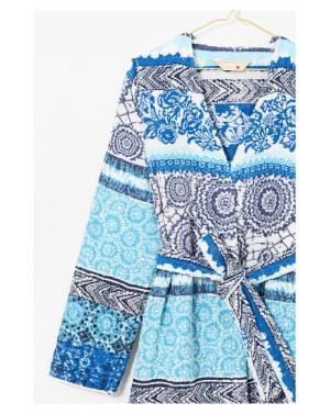 Peignoir Exotic Jeans jacquard - Desigual