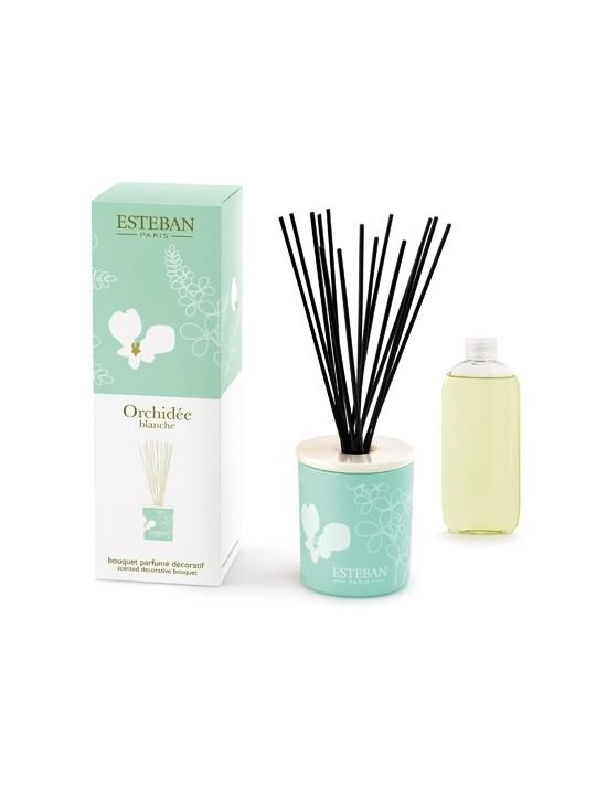 Bouquet parfumé décoratif Orchidée Blanche - Esteban