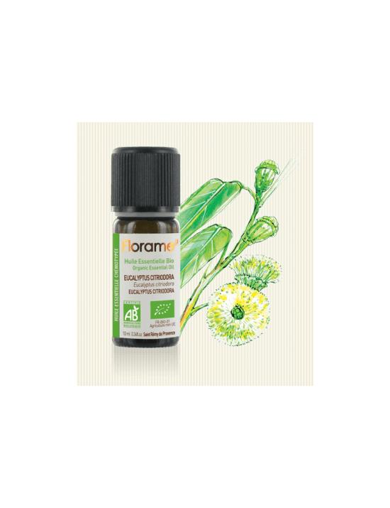Eucalyptus citronné Huile essentielle bio - Florame