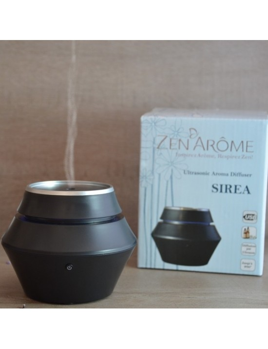 Diffuseur de brume de parfum Sirea noir - Zen Arome