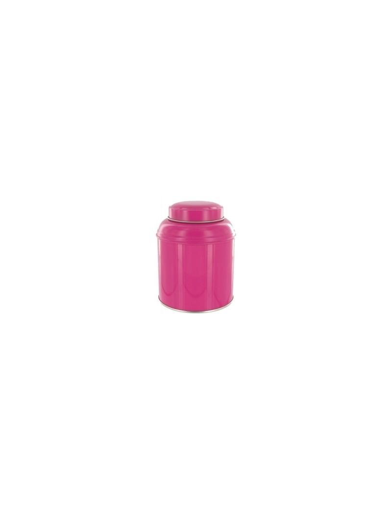 Boite à thé dôme rose*