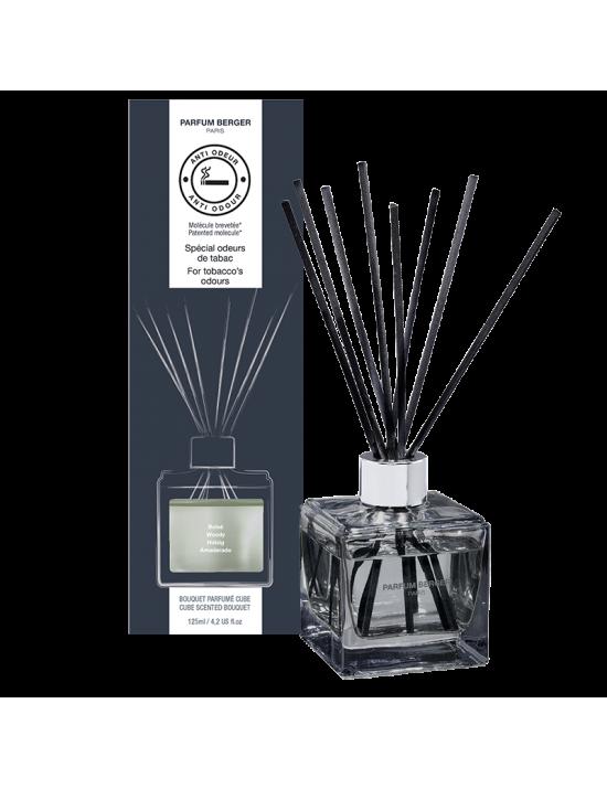 Bouquet parfumé cube Odeurs de tabac - Parfum Berger