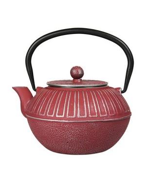 Théière en fonte Samourai 1L rouge