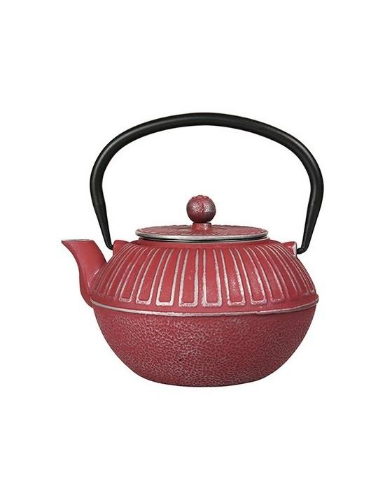 Théière ne fonte Samourai 1L rouge