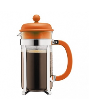 Cafetière à piston 8 tasses Orange 1L - Bodum