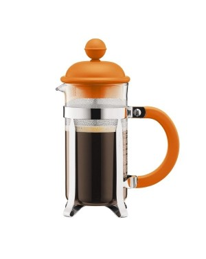 Cafetière à piston 3 tasses Orange 0,35L - Bodum