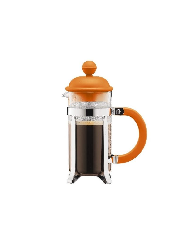 Cafetière à piston 3 tasses Orange 0,35L - Bodum