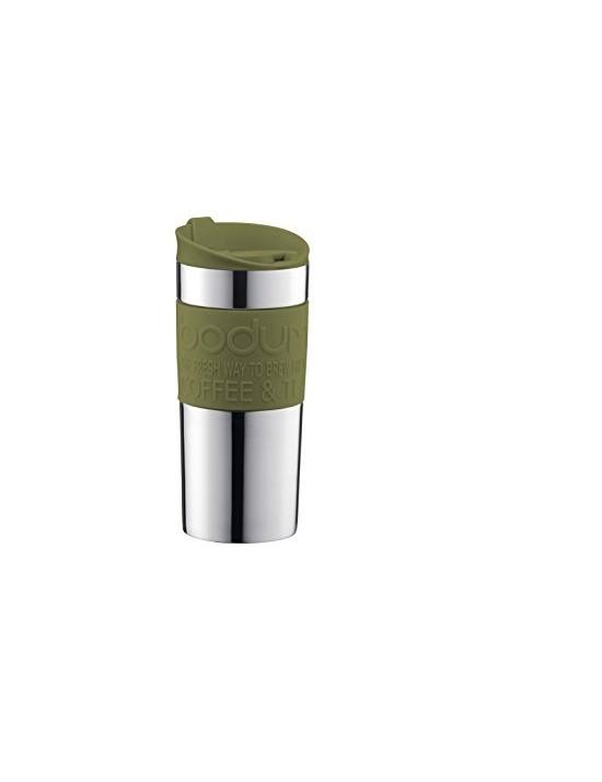 Mug de voyage isotherme Vert olive 0,35L - Bodum