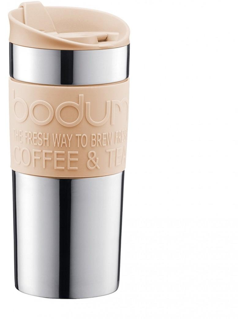 Mug de voyage isotherme Crème 0,35L - Bodum
