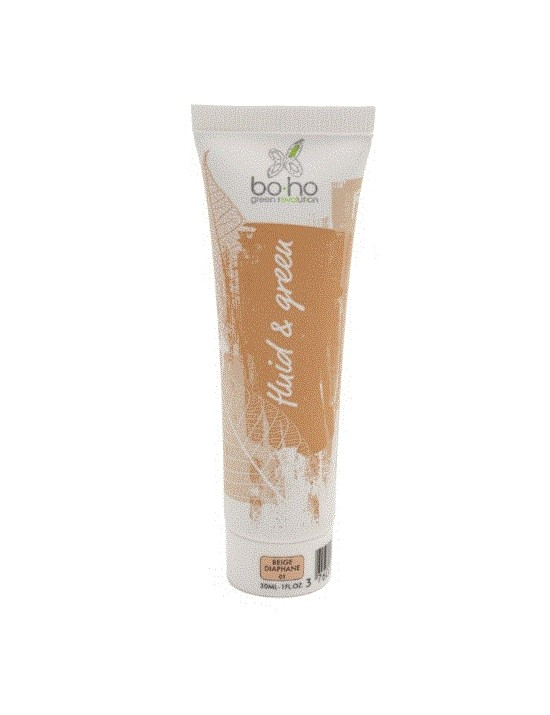 Fond de teint fluide bio Beige diaphane - Boho
