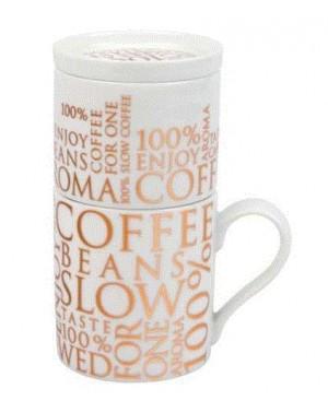 Egosite à café on white - Konitz