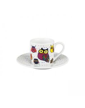 Tasse à café hibiux blanc - Konitz