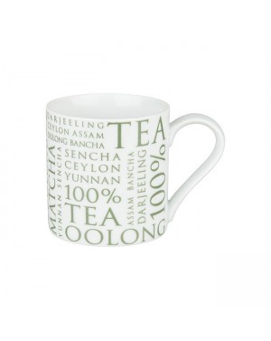 Mug 100% Tea blanc - Konitz