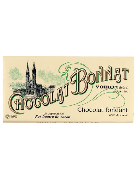 Tablette de chocolat Fondant Noir - Bonnat