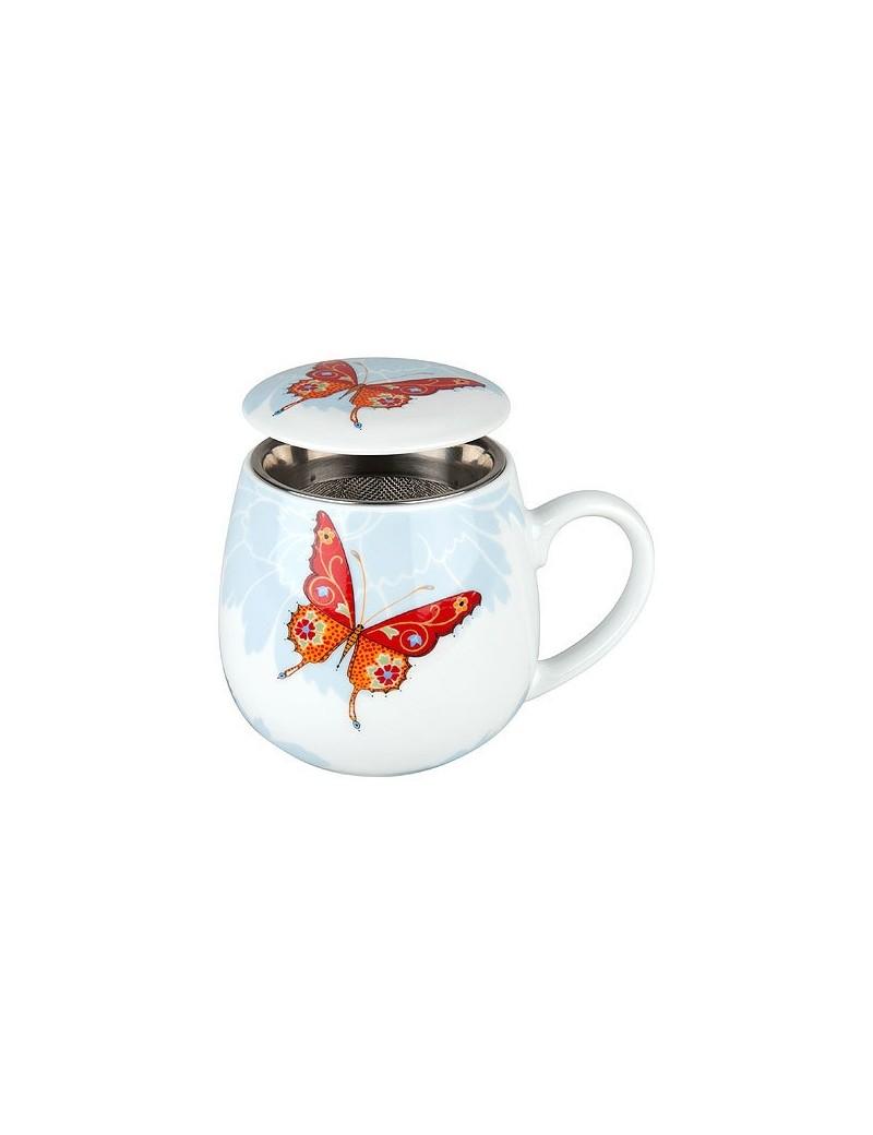 mug snuggle avec filtre et couvercle papillon konitz. Black Bedroom Furniture Sets. Home Design Ideas