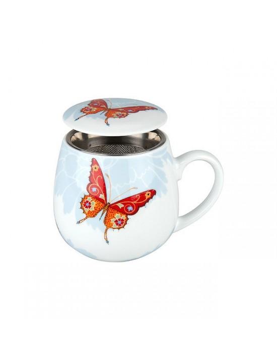 Mug Snuggle avec filtre et couvercle Papillon  Konitz