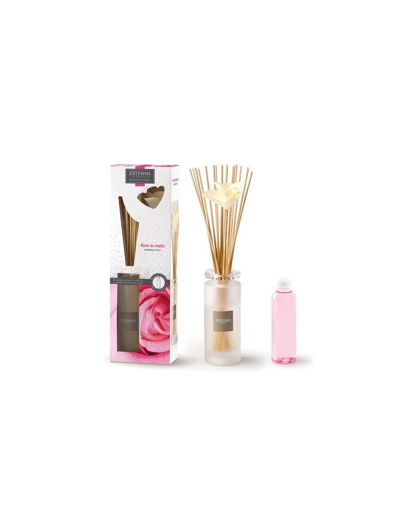 Bouquet parfumé soliflore Rose du matin - Esteban