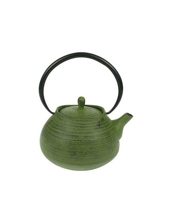 Théière en fonte Tea pot 1L vert