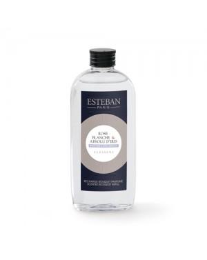 Recharge pour bouquet parfumé Rose blanche  et  Absolu d'Iris - Esteban