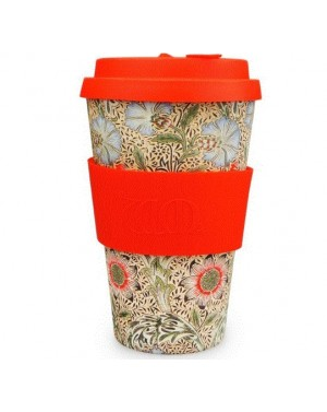 Mug en fibre de bambou Corncockle 400ml - William Morris Designs