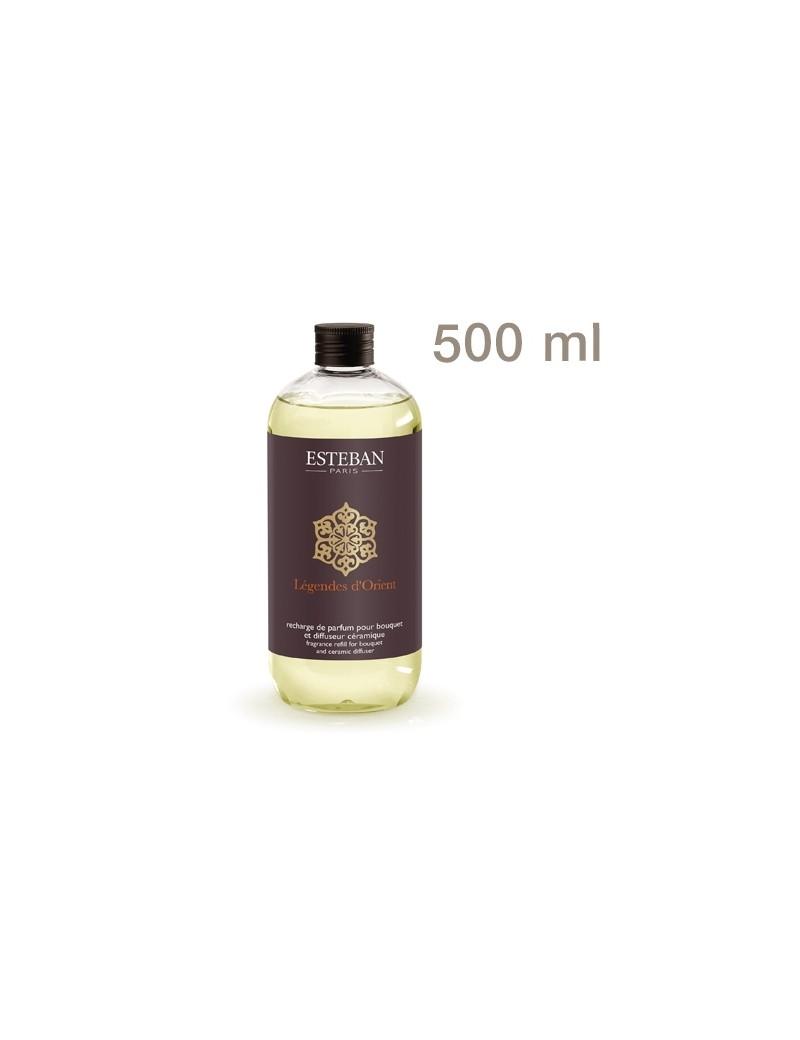 Recharge pour bouquet parfumé Légende d'Orient 500ml - Esteban