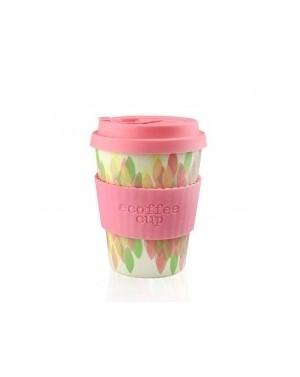 Mug en fibre de bambou Sakura Pink 340ml