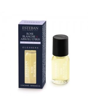 Concentré de parfum Rose blanche  et  Absolu d'Iris - Esteban