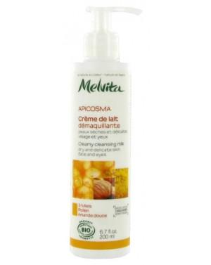 Crème de lait démaquillante Apiscosma bio - Melvita