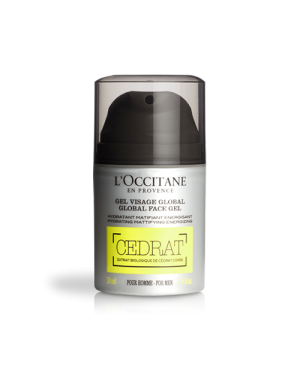 Gel hydratant visage global Cédrat - L'Occitane