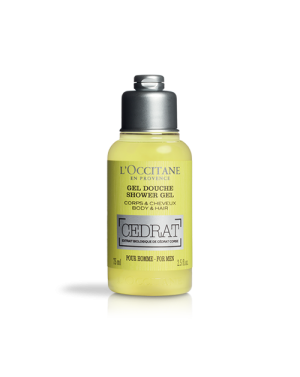 Gel douche Cédrat 75ml - L'Occitane