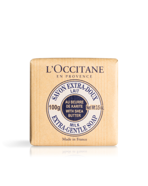Savon extra doux lait au karité - L'Occitane